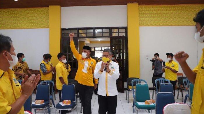 Ketua Golkar Sulsel Taufan Pawe Roadshow Politik di Tana Toraja