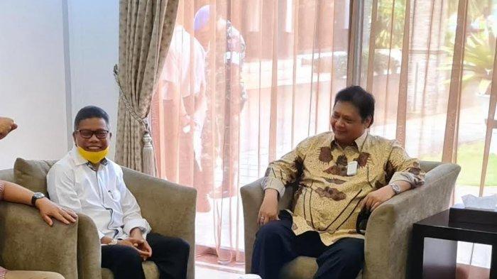 Airlangga Hartarto Harap Taufan Pawe Mampu Kembalikan Kejayaan Golkar di Sulawesi Selatan
