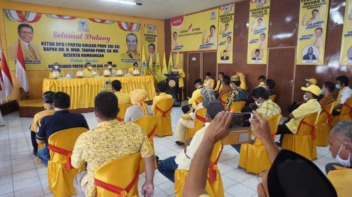 Empat Kader Perebutkan Ketua Golkar Pinrang, Siapa Saja?