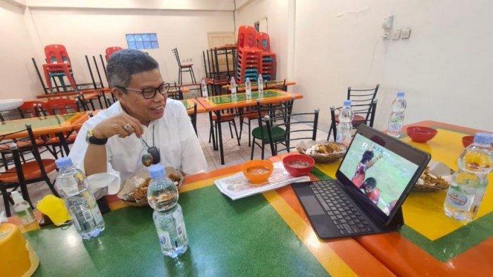 Cara Taufan Pawe Dukung Juku Eja,Rela Singgah di Warung Makan Salobulo Wajo Demi Nonton PSM vs Arema
