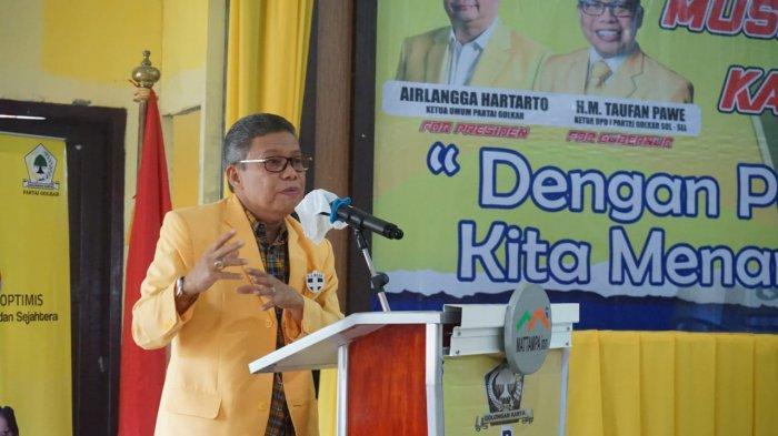 Hoist, Nurhaldin, Juniar Arge Silakan Munafri Arifuddin Jadi Ketua Golkar