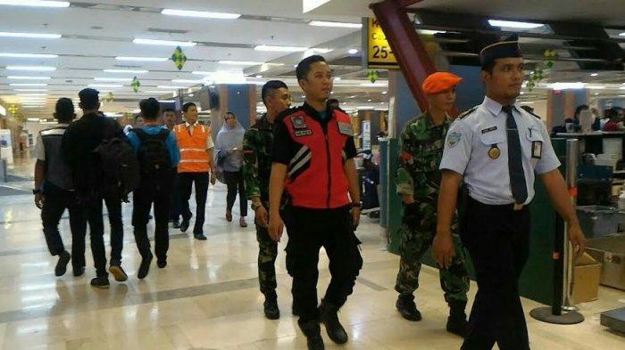 Pasca Lebaran, Pengamanan di Bandara Hasanuddin Diperketat