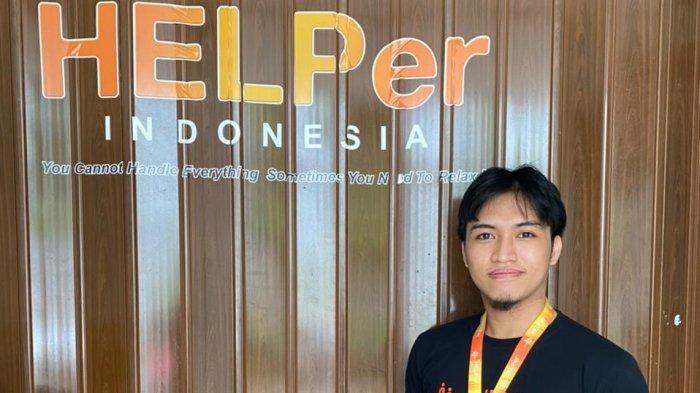 Rizky Eka Arlin, Alumnus Fakultas Teknik Unhas Hadirkan Start-up Helper Indonesia