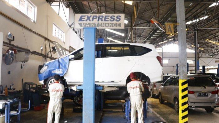 Tenang! Libur Natal dan Tahun Baru, Bengkel Kalla Toyota Tetap Buka