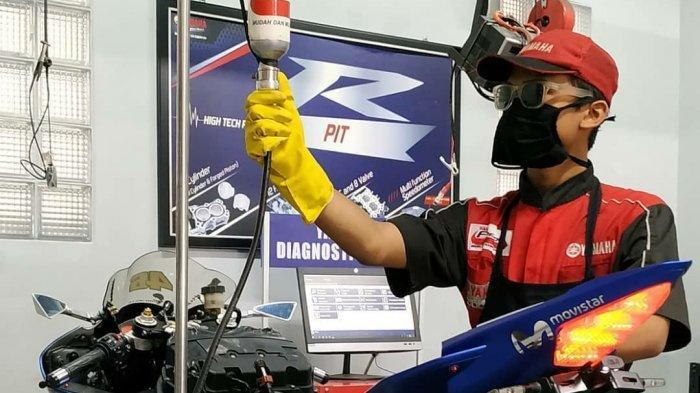 Tips Perawatan Motor Yamaha saat di Rumah Aja atau di Masa PPKM Darurat