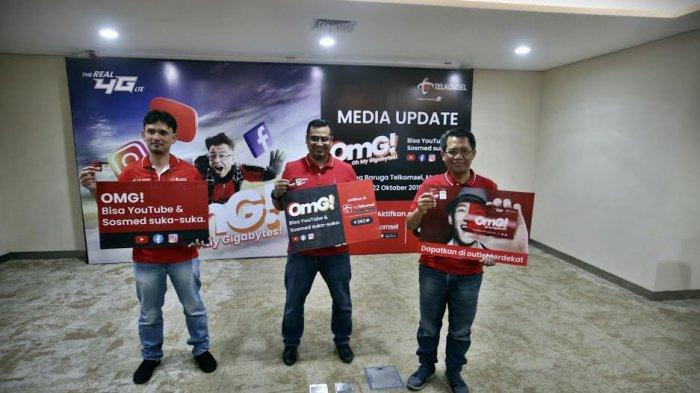 FOTO: Telkomsel Perkenalkan Paket OMG