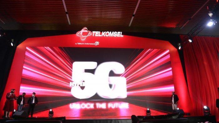 Telkomsel Resmi Luncurkan Layanan 5G