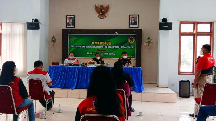 Berantas Korupsi, Kejari Tana Toraja Gandeng Laskar Anti Korupsi Indonesia