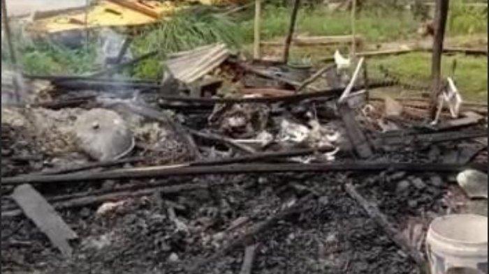 Tenda Pengungsi Gempa Sulbar di Malunda Ludes Terbakar