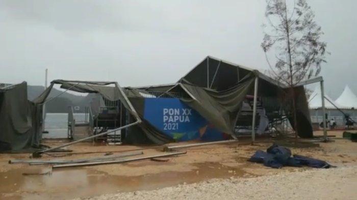 Cuaca Buruk, Final Dayung PON XX Papua 2021 Diundur