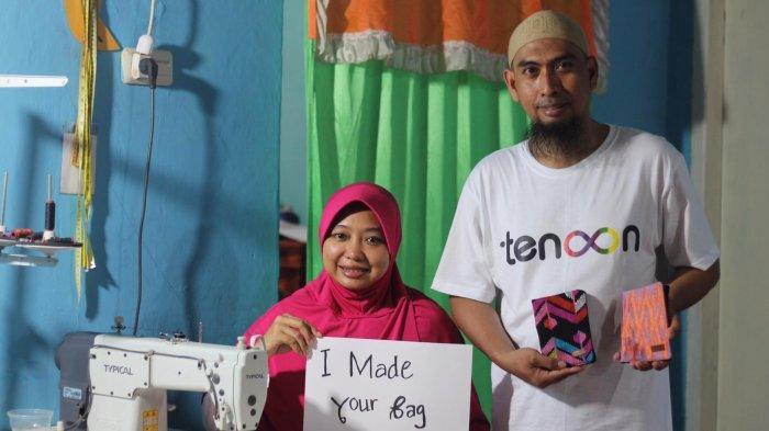 TRIBUNWIKI: Mengenal Tenoon, Usaha Sosial yang Berdayakan Penyandang Disabilitas di Makassar