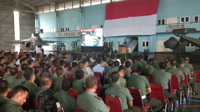Rumah Dinas TNI Jadi Pabrik Donat