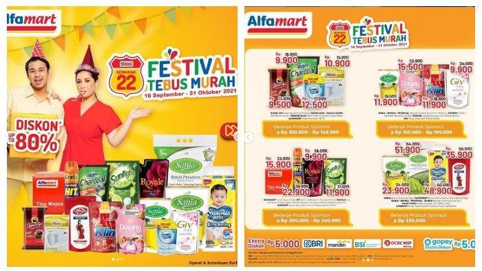 KATALOG Promo Alfamart Sabtu 2 Oktober 2021: Kebutuhan Bayi, Minyak Goreng hingga Beras Murah Banget