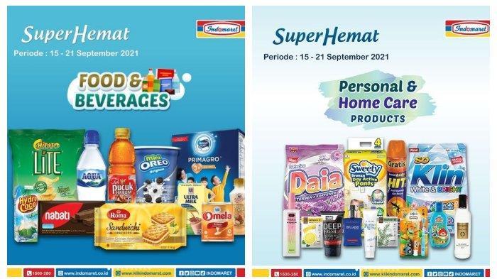 Terbaru Katalog Promo Indomaret 15 September 2021, Tambah Rp2.000 Dapat 2, Serba Beli 2 Gratis 1