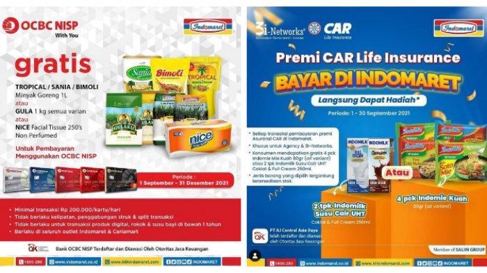 KATALOG Promo Indomaret Selasa 7 September 2021: Produk Heboh Murah Banget, Tambah Rp 2000 Dapat 2