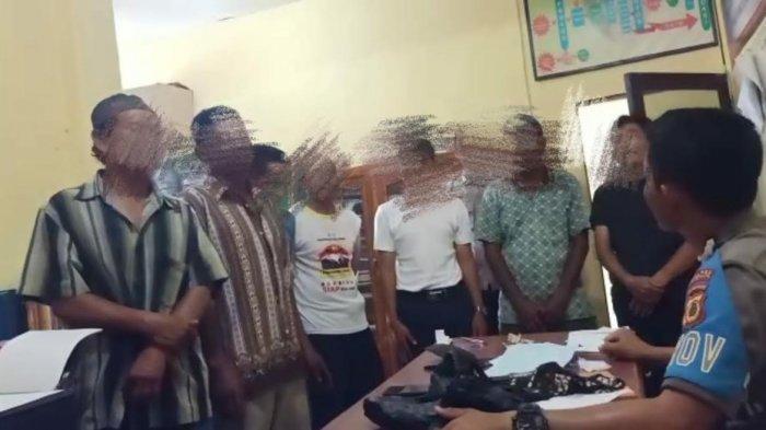 Polisi Amankan 7 Warga di Pasar Karisa Jeneponto, Diduga Terlibat Judi Togel