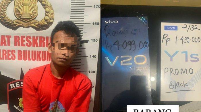Terduga Pelaku Pencurian Handphone Modus COD di Bulukumba Ditangkap Polisi