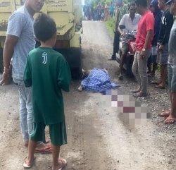Kronologis Guru SD di Bantaeng Tewas Dilindas Mobil Truk Pengangkut Tanah Timbunan