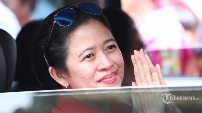 Ketua DPR RI dari Fraksi PDIP, Puan Maharani