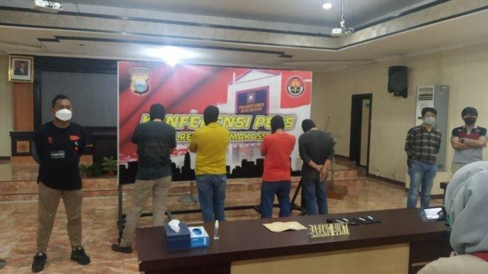 Tersangka Narkoba, Pejabat Pemkot Makassar Sabri Cs Ajukan Rehabilitasi