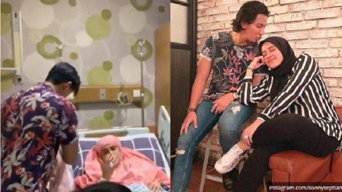 Terungkap Penyakit Mantan Istri Galih Ginanjar, Fairuz A Rafiq, Sonny Septian Minta Didoakan