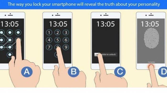 Tes Kepribadian: Ternyata Cara Mengunci Handphone Bisa Ungkap Kepribadian Seseorang, Kamu yang Mana?
