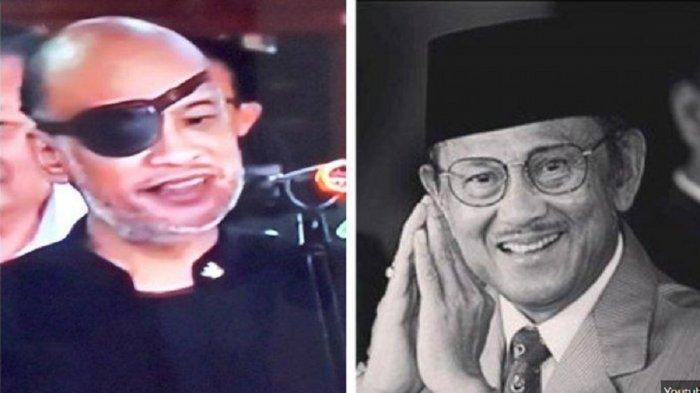 Thareq Kemal Habibie Akhirnya Buka Penutup Mata, Ini Penyakit & Kondisi Mata Anak Bungsu BJ Habibie