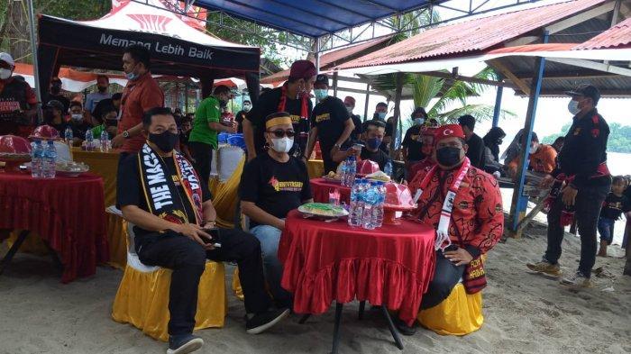 Tim Sepakbola Sulsel Hadiri Anniversary ke-4 The Maczman Papua, Daeng Kahar: Kami All Out di PON XX