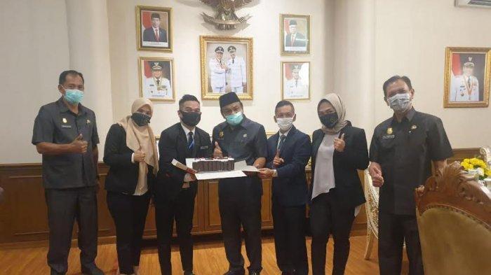 Manajemen The Novena Hotel Silaturahmi dengan Bupati Bone