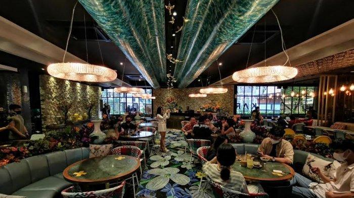 The Saigon Restaurant, terletak di Jalan Letjend Hertasning Kota Makassar baru saja dibuka, Rabu (2712021) menyajikan beragam menu baik Asian food, western, maupun Chinese Food dan lainnya.