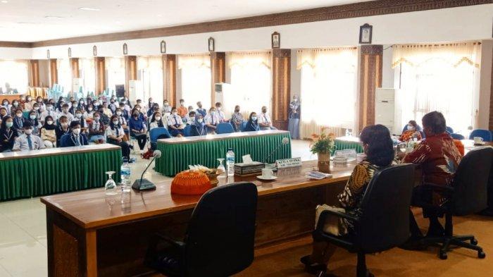Pembentukan Forum Anak, Bupati Theo Tekankan Pelajar Terlibat Dalam Organisasi