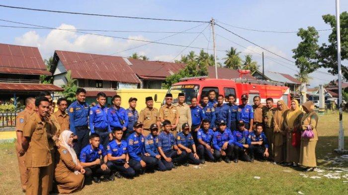 Diserahkan Bupati Luwu Timur, Kecamatan Wotu Kini Miliki Mobil Damkar