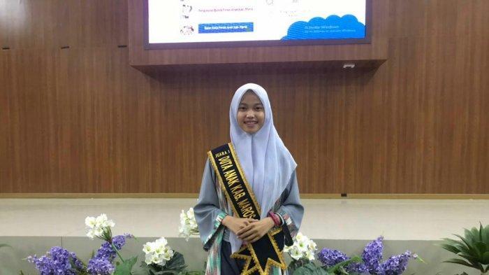 Perjuangkan Hak Anak, Tifani S.A Nabila Terpilih sebagai Duta Anak Maros 2021