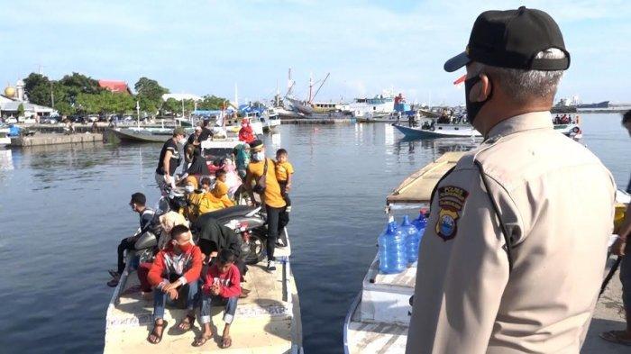 Bawa Penumpang dari Pangkep, Tiga Kapal di Pelabuhan Paotere Makassar Diminta Putar Balik