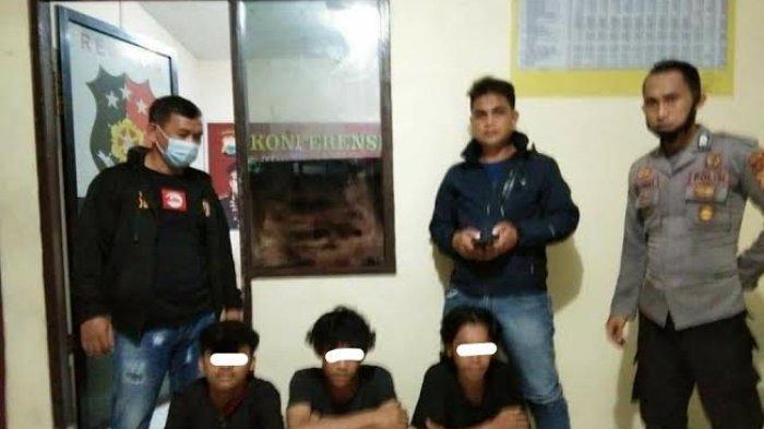 Palak Pengunjung Minimarket, Tiga Pemuda Palopo Diamankan Polisi