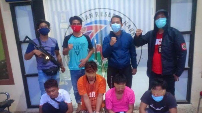 Bawa 4 Saset Sabu dan 478 Butir Tramadol, Polresta Mamuju Tangkap 3 Pemuda di Jembatan Bolong