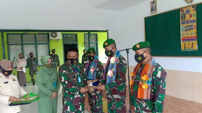 Tiga Personel Kodim 1404 Pinrang Kembali dari Papua