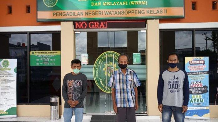 Tebang Pohon Jati di Kebunnya, Tiga Petani di Soppeng Divonis 3 Bulan Penjara