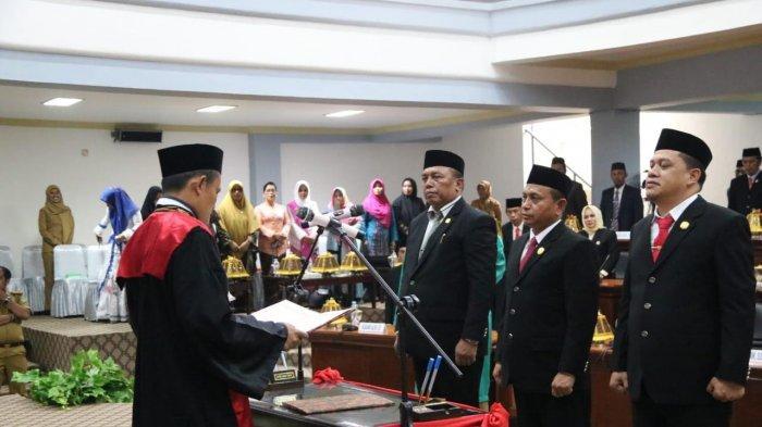 Tiga Pimpinan DPRD Luwu Timur Periode 2019-2024 Dilantik