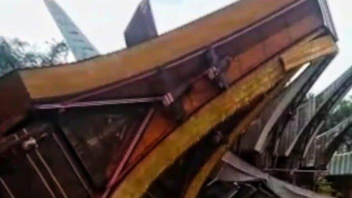 3 Rumah Adat di Sesean Toraja Utara Porak Poranda Diterjang Angin