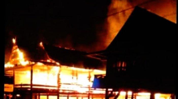 Tiga Rumah Terbakar di Gilireng Wajo Dini Hari Tadi, Dua Milik Imam Desa