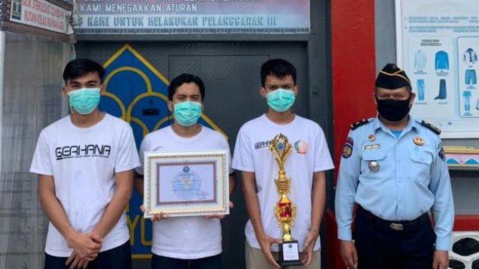 Tiga WBP Rutan Makale Juara Cipta Lagu dan Video HANI 2021