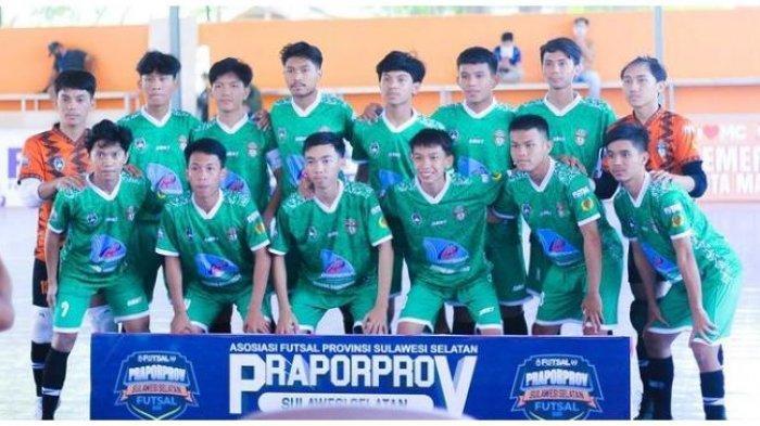 Futsal Pra-Porprov XVII, Sepuluh Gol Tercipta di Laga AFK Wajo Melawan AFK Soppeng
