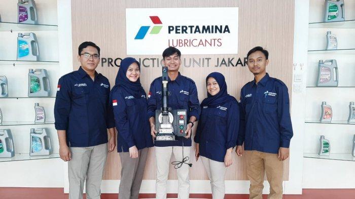 Alumni FTI UMI, UI, Unpad Temukan Alat Penguji Pelumas Frothing Portable, Bakal Dipakai Pertamina
