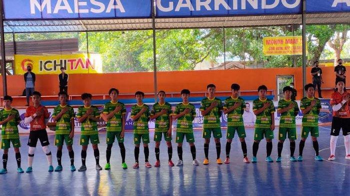 Tumbangkan Maros 6-3, Tim Futsal Luwu Utara Berpeluang Lolos Porprov Sulsel