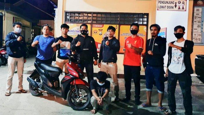 Curi Motor Anak Kos, Pemuda Enrekang Ditangkap di Tana Toraja