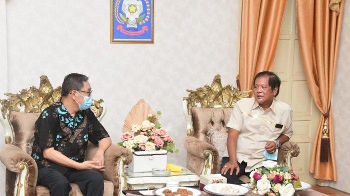 Prof Din Syafruddin Terkesan dengan Fasilitas Penanganan Covid-19 di Kabupaten Soppeng
