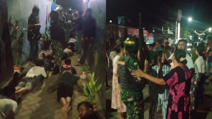 9 Orang Diamankan Saat Tawuran di Sabutung Baru Makassar