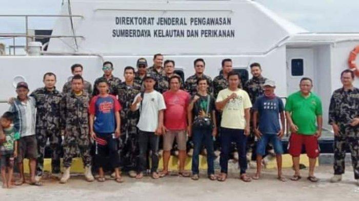 Kapal Pengawasan Hiu 09 Intai Pengeboman Ikan di Liukang Tangayya, Tim Deklarasi Stop Bom dan Bius