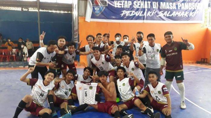 Juara Group E, Tim Futsal Luwu Timur Lolos Porprov Sulsel